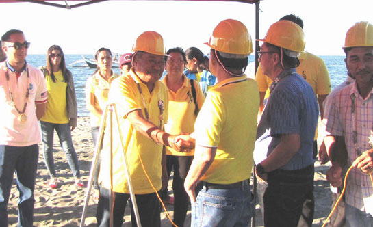 CAPELCO launch the On- Grid Electrification of Olotayan Island under BLEP